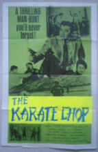Karate Chop, Movie Poster, Tony Ferrer, Kung Fu, '70s